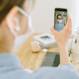 Videocall with masks